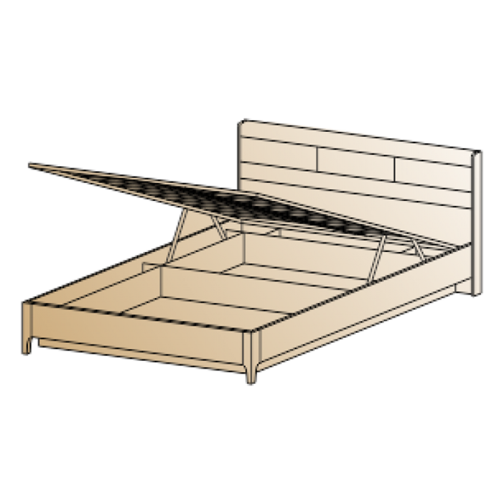 Кровать КР-1863